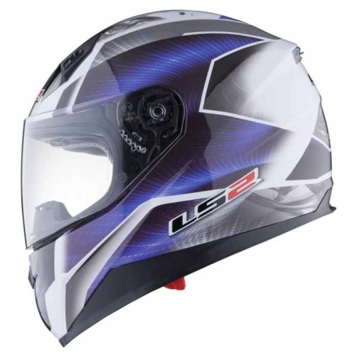 Шлем LS2 FF384 Saga White-Blue
