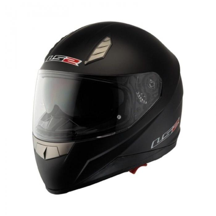 Шлем LS2 FF384 Solid Black Matt