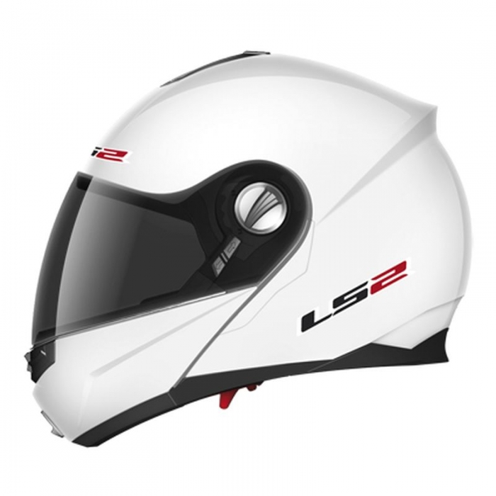 Шлем Модуляр LS2 FF386 Ride Solid White Gloss
