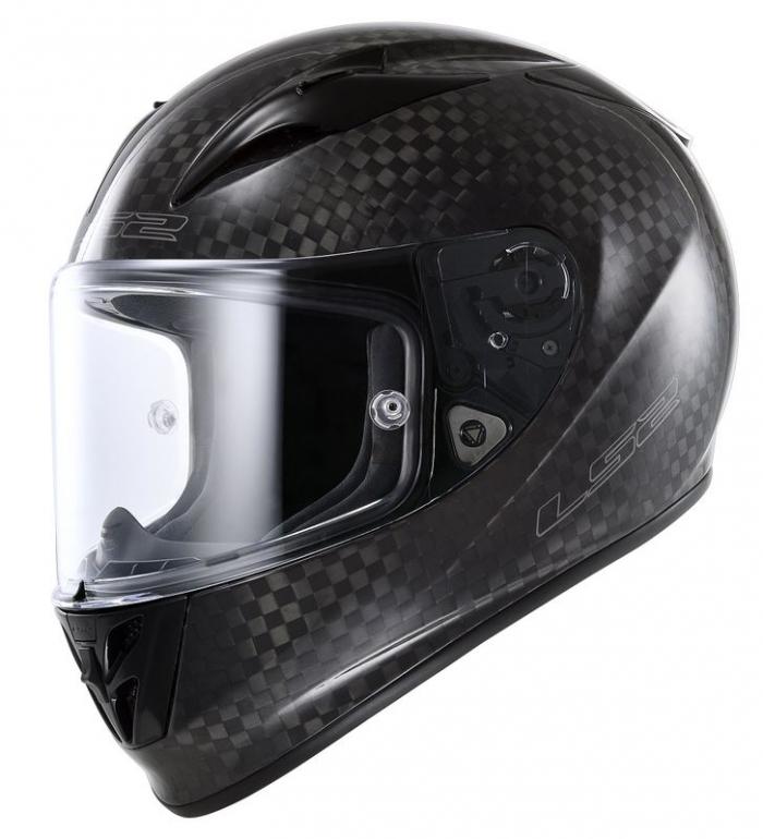 Шлем LS2 FF323 Arrow C Solid Carbon
