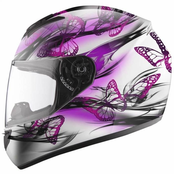 Шлем LS2 FF351 Flutter White-Pink