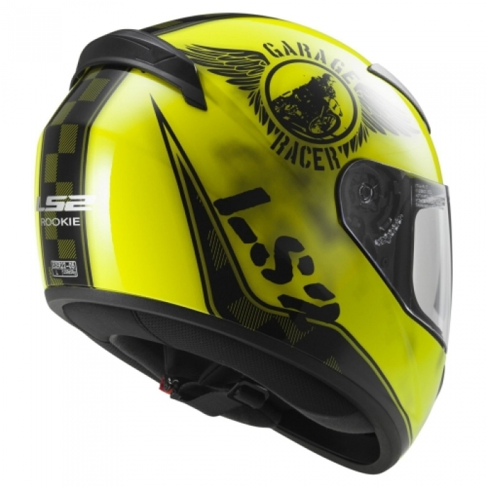 ШЛЕМ LS2 FF352 ROOKIE FAN HI-VIS YELLOW ЦЕНА
