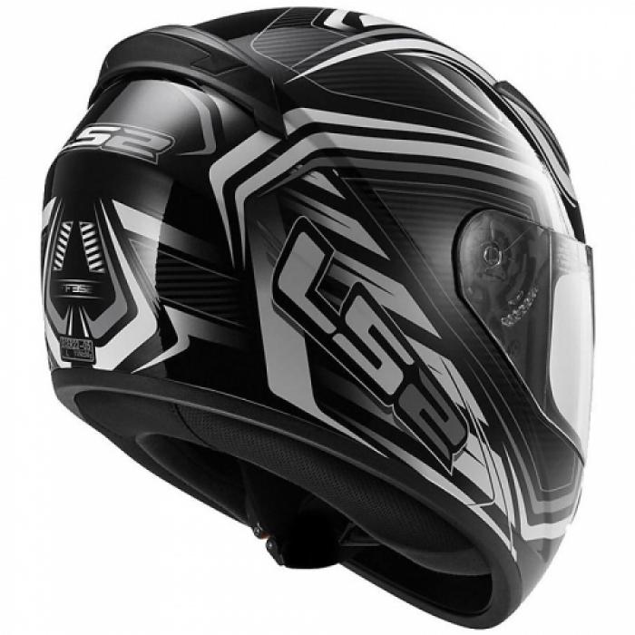 Шлем LS2 FF352 ROOKIE RANGER Black White цена