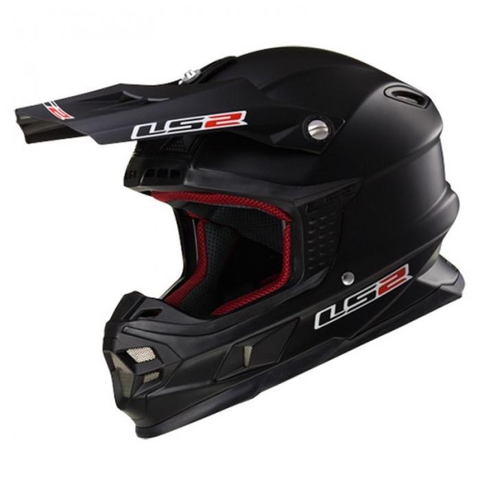 Кроссовый шлем LS2 MX456 Black Matt