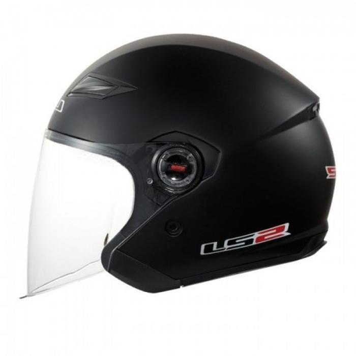 Открытый шлем LS2 OF569 Rock Black Matt