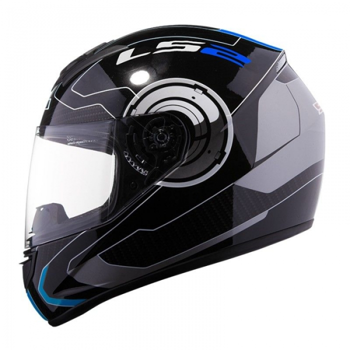 Шлем LS2 FF351 Atmos Black-Blue