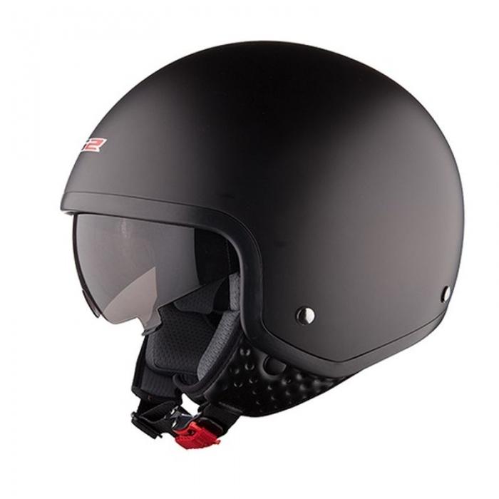Открытый шлем LS2 OF561 Wave Black Matt