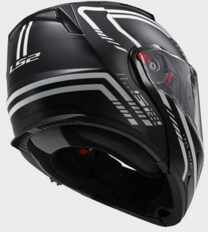 Шлем модуляр LS2 FF324 METRO FIREFLY MATT BLACK цена