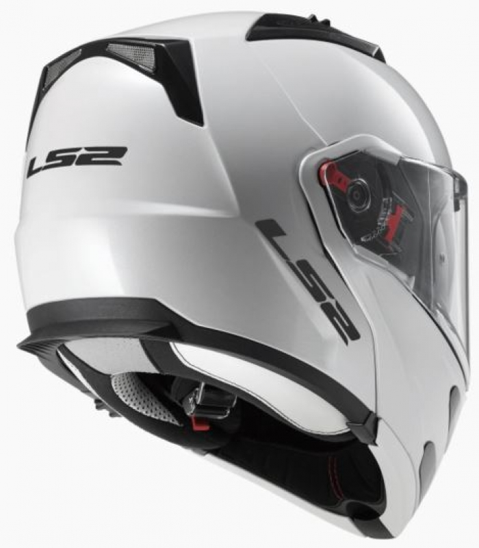Шлем модуляр LS2 FF324 METRO SOLID WHITE цена