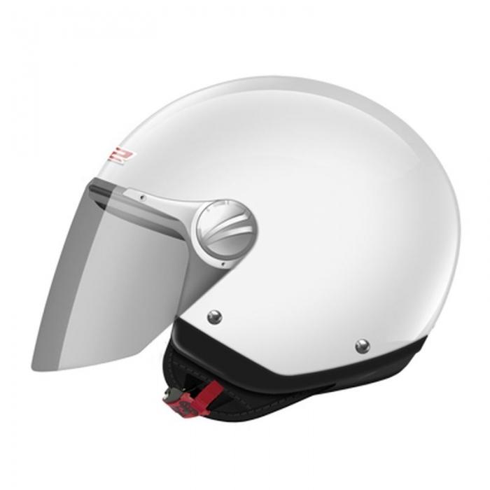 Открытый шлем LS2 OF560 Rocket II Solid White Gloos