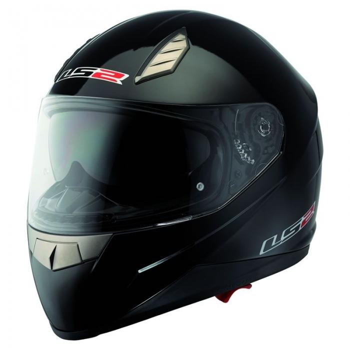 Шлем LS2 FF384 Solid Black