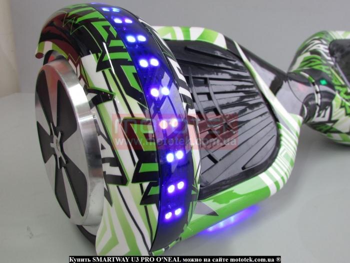 гироборд smart черный 6 5