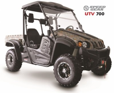 Speed ​​Gear UTV 700 EFI advanced