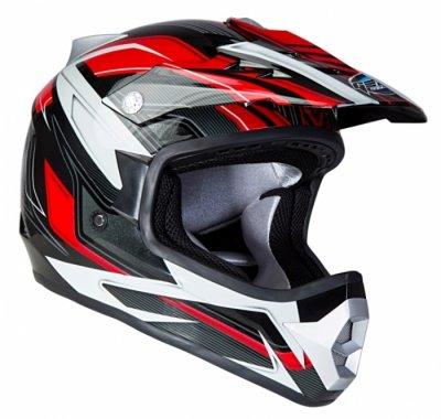 Шлем GEON 623 Кросс Vector черный-красный