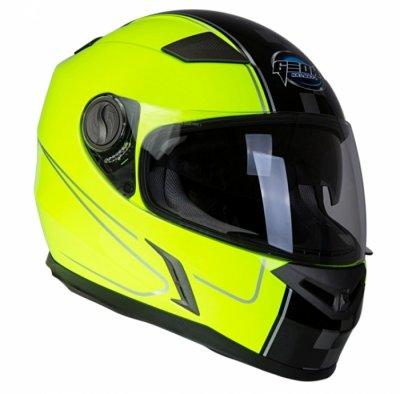 Шлем GEON 952 Интеграл черный-желтый