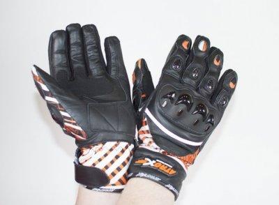 Мотоперчатки кожаные Atrox KATANA