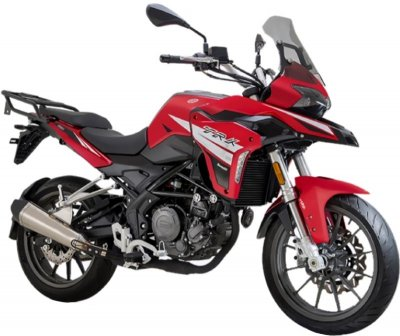 Benelli TRK 250X ABS ON-road