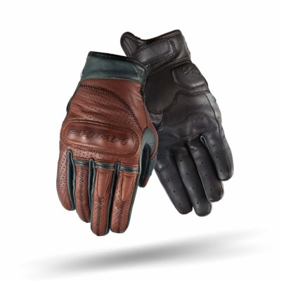 Мотоперчатки ШКІРЯНІ SHIMA CALIBER коричневі