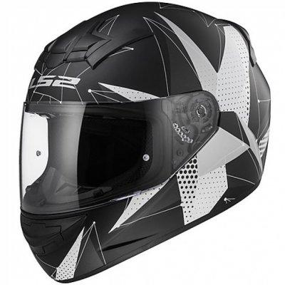 Шлем LS2 FF352 ROOKIE BRILLIANT MATT BLACK-TITANIUM