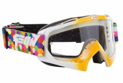 Кросові окуляри Geon Lykan GN16 Orange White