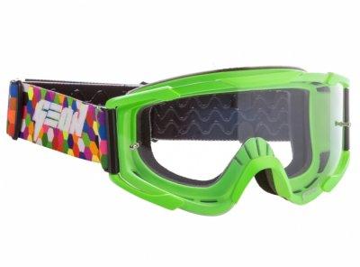 Кроссовые очки Geon Lykan GN90 Green