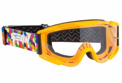 Кроссовые очки Geon Lykan GN90 orange