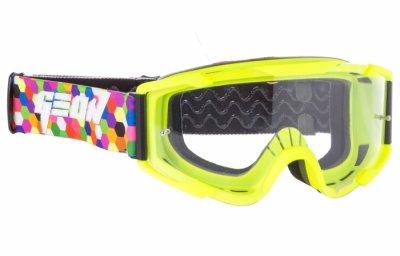 Кросові окуляри Geon Lykan GN90 Yellow