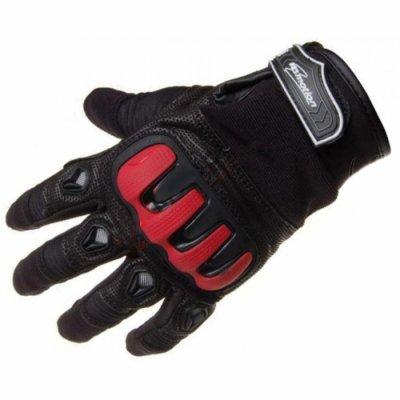 Мотоперчатки INMOTION BLACK / RED