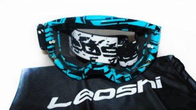 Кросові окуляри Leoshi Blue Black