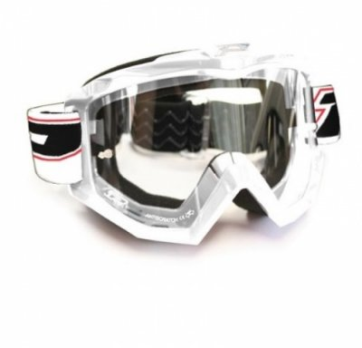 Кроссовые очки Progrip PG 3201 White