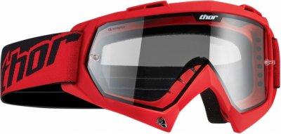 Кросові окуляри Thor ENEMY Solid Red