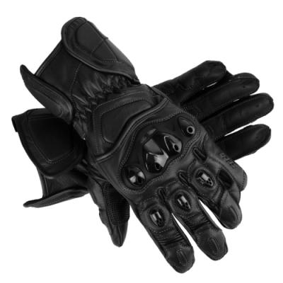Мотоперчатки Seca Atom black