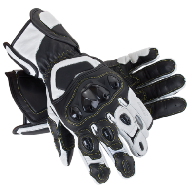 Мотоперчатки Seca Atom white