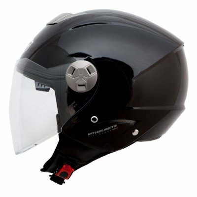 MT Helmets City Eleven Solid black