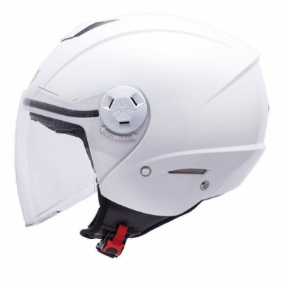 MT Helmets City Eleven Solid white