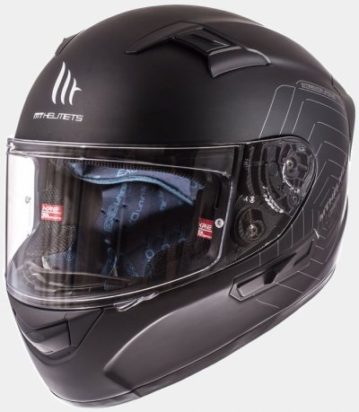 MT Helmets KRE SV Solid matt black