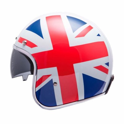 MT Helmets Le Mans UK Flag