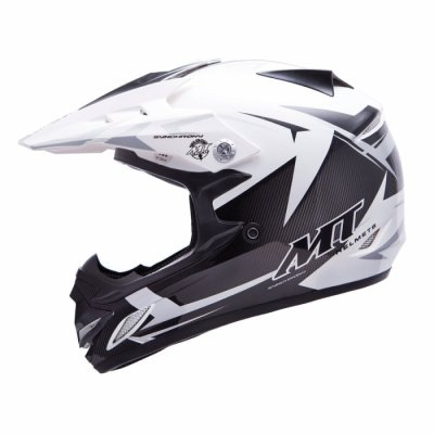 MT Helmets MX2 Synhrony Steel white / grey