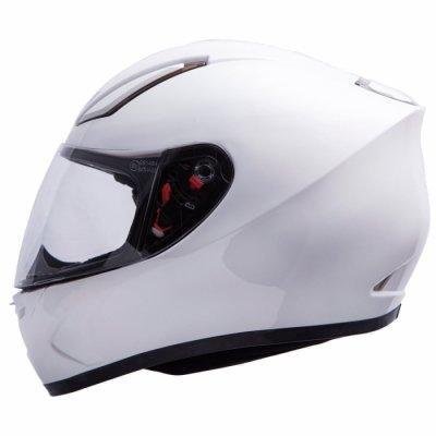 MT Helmets Revenge Solid white