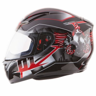 MT Helmets Revenge Split black/grey/red