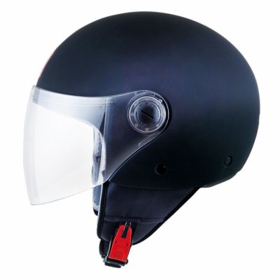 MT Helmets Street Solid black