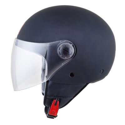 MT Helmets Street Solid matt black