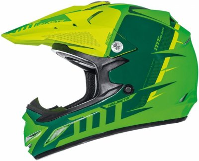 MT Helmets Synchrony MX2 Spec Kid Green Yellow
