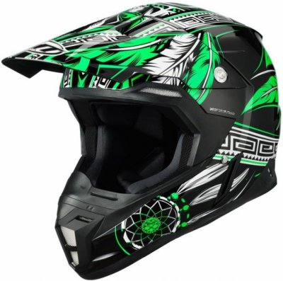 MT Helmets Synchrony Native black/fluor green