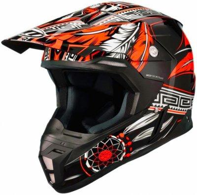 MT Helmets Synchrony Native black/orange