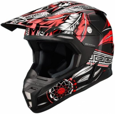 MT Helmets Synchrony Native black / red