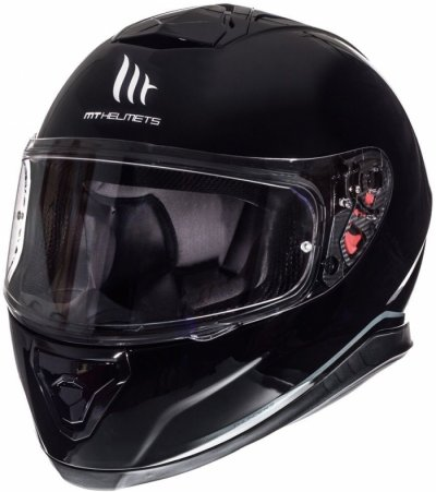 MT Helmets Thunder 3 Solid Gloss Black
