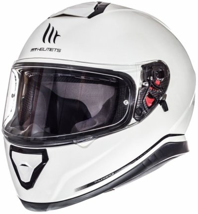 MT Helmets Thunder 3 Solid Pearl White