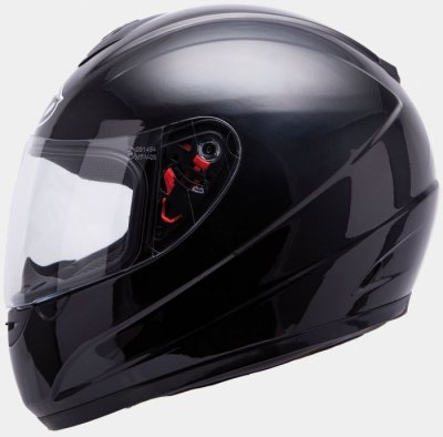 MT Helmets Thunder Kids Solid black