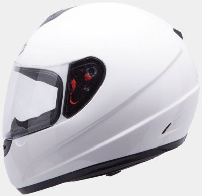 MT Helmets Thunder Kids Solid white